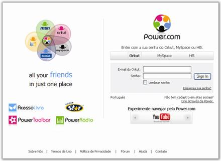 Login do Power.com