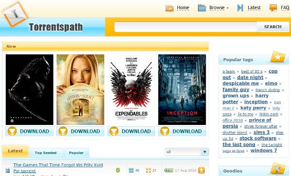 TorrentsPath.com – Encontre os torrents mais populares