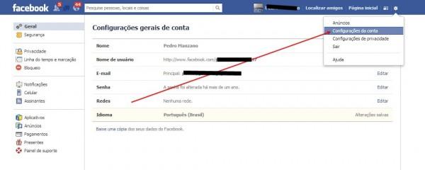 remover Facebook