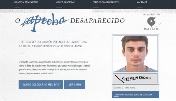Captcha Desparecido