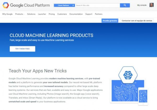 Cloud Machine Learning Platform