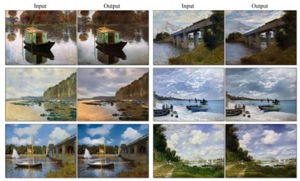 pinturas em fotos