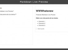 Markdown-Live-Preview