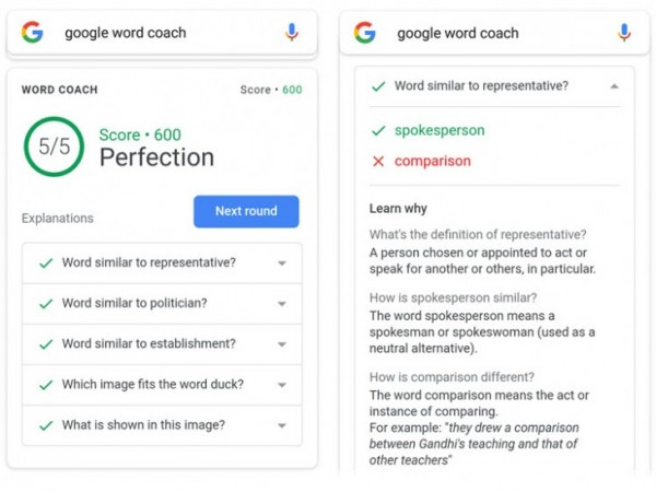 Google-Word-Coach
